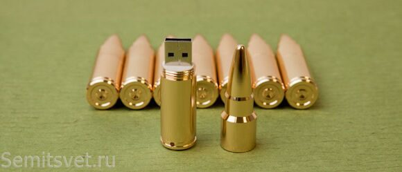 Flash card Bullet on 4GB